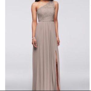 Tan Bridesmaid Dress